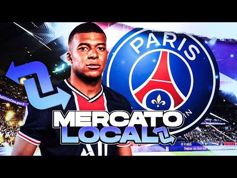 FIFA 21   CARRIERE   MERCATO LOCAL : PSG