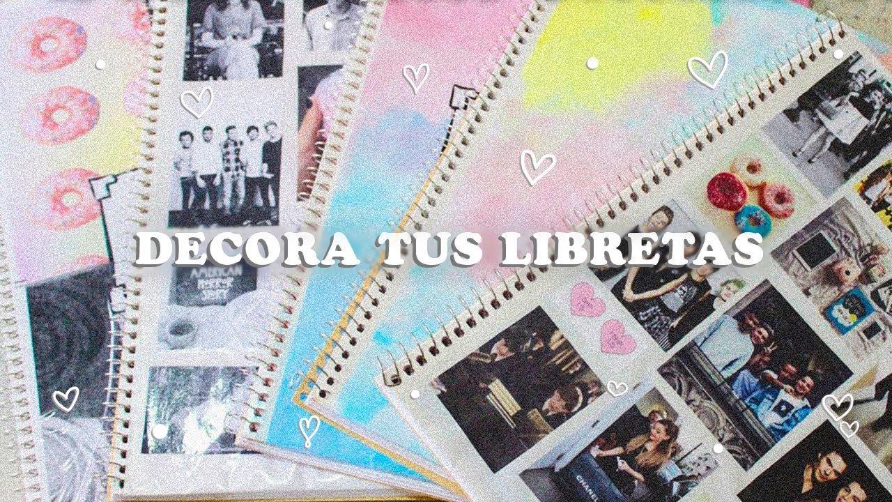 Portadas Para Cuadernos Decora Tus Libretas Con Dibujos: REGRESO A CLASES ♡