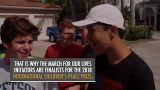 International Children's Peace Prize 2018 - Finalist March For Our Lives Movement