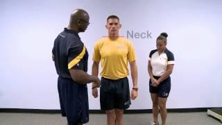 MilitaryPTFitness.com - Body Composition Assessment Demonstration Video