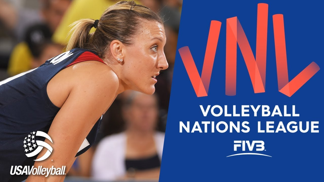 Jordan Larson talks FIVB Volleyball Nations League 2018