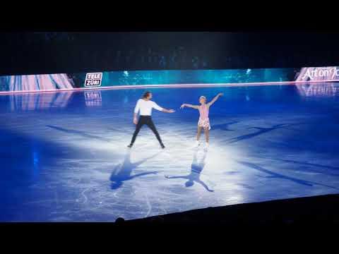 Tatiana Volosozhar & Maxim Trankov at Art On Ice 2018 Zurich Opening Night