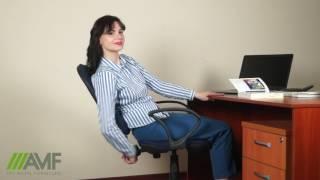 Офисное кресло Плутон. Обзор мебели от amf.com.ua