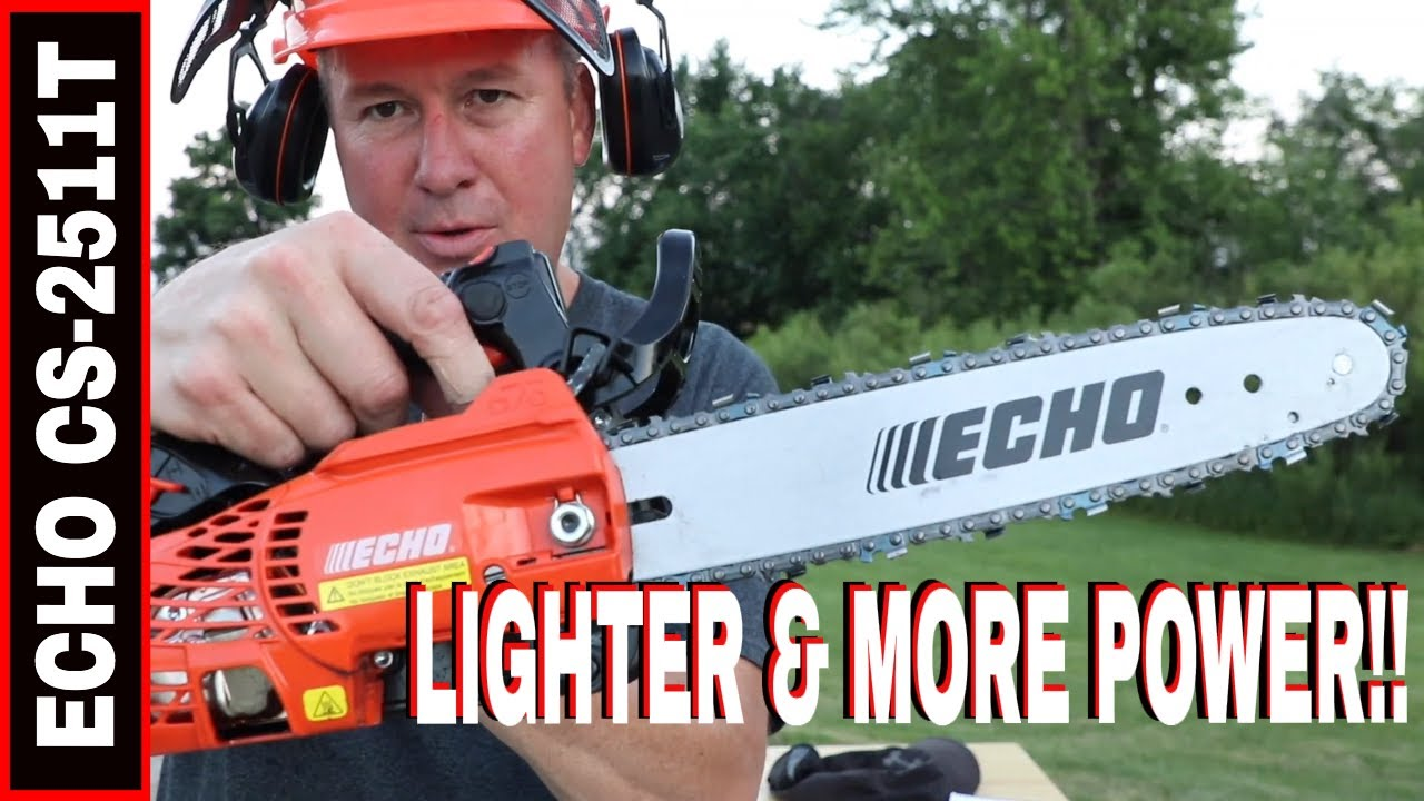 Echo Chainsaw Cs 2511t The Lightest Gas Chainsaw In North America Youtube