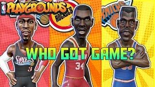 WHO GOT GAME!? (NBA Playground) - NBA Playgrounds Xbox One/PS4/Switch Gameplay