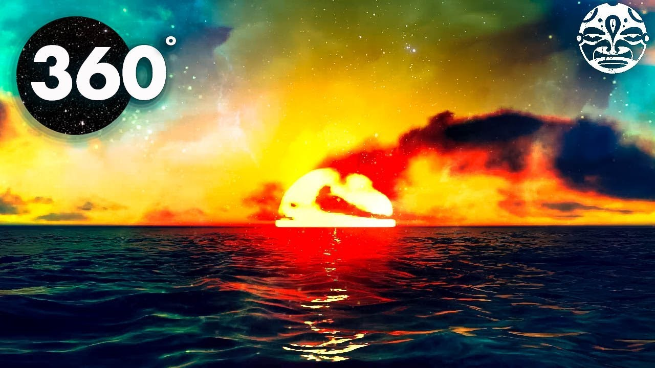 Sunset Mind Chill 360 / VR Video - 1 Hour Chill-Out Music Mix