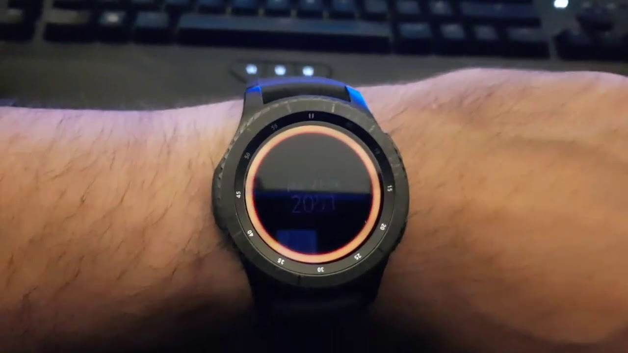 The Division Watch Based On Samsung Gear S3 Frontier
