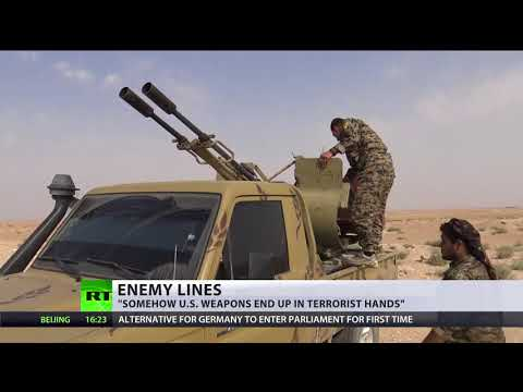 Enemy Lines: Russian MoD provides images of US hardware at ISIS positions