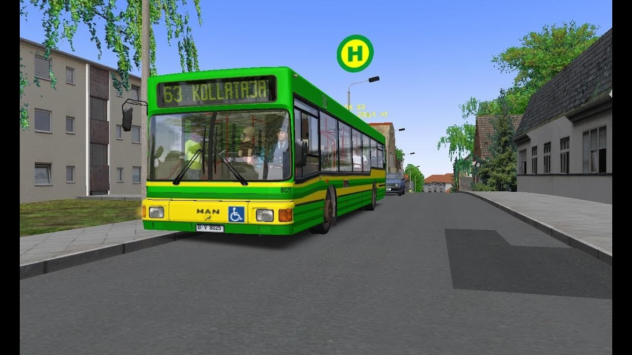 Omsi 2 Berlin Spandau Route 130 Dublin Bus Three Generation Addon 2012 Omsi 2 Projekt Szczecin 4 Route 63 Man Nl 202 By Eamons85