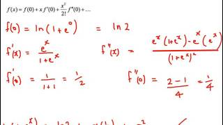 ib hl mathematics calculus option maclaurin and taylor series past paper worked solutions