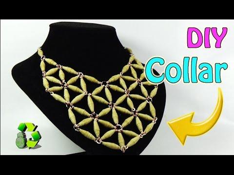 d59b2912b630 DIY Collar de papel (Reciclaje) Ecobrisa