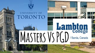 8 Differences between Masters & PG Diploma in Canada