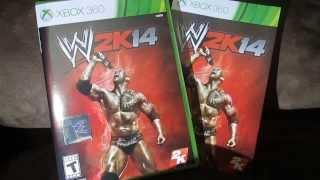 WWE 2k14 Unboxing (Xbox 360)