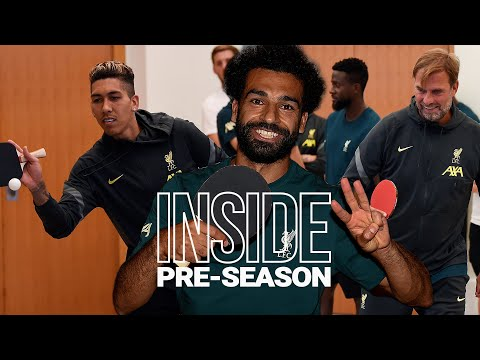 Inside Pre-Season: Liverpool's table tennis tournament | Salah going for a hat-trick