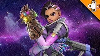 SOMBRA'S INFINITY GAUNTLET! Overwatch Funny & Epic Moments 585