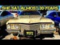 1972 Cadillac Coupe Deville Junkyard Find