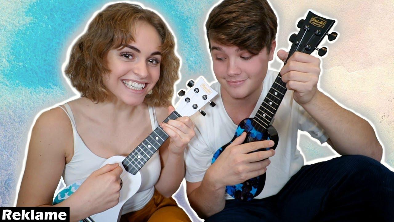 Mika lærer mig IKKE MERE MÆLK på ukulele