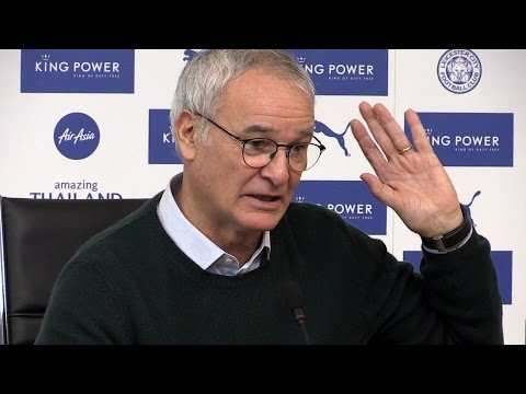 Claudio Ranieri Full Pre-Match Press Conference - Southampton v Leicester