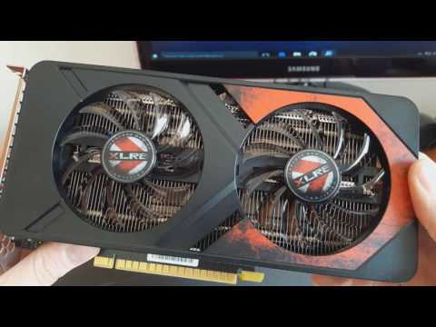 PNY GeForce GTX 1050 Ti 4GB XLR8 Gaming OC