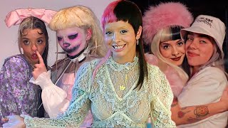 Singers who would collaborate with Melanie Martinez (Billie Eilish,Ashnikko,Doja Cat, Katy Perry)