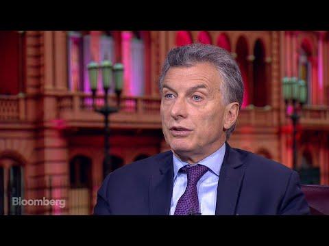 Argentina's Macri on Reforms, Trade, Economy