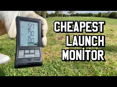 Cheapest Portable Golf Shot Launch Monitor Review