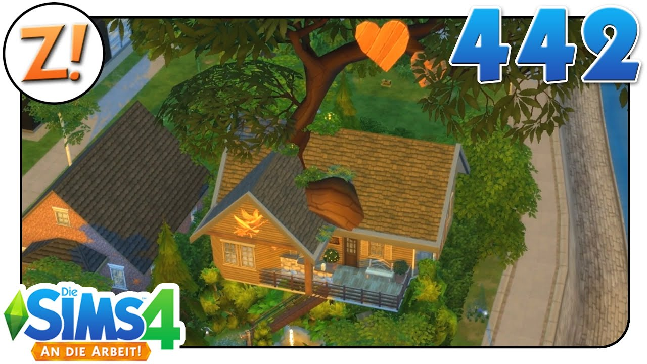 sims 4 an die arbeit ein baumhaus wird fertig 442 let 39 s play german deutsch youtube. Black Bedroom Furniture Sets. Home Design Ideas