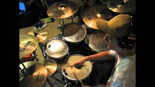 ♫ OMERTA drum cover : Lamb of God ♫    **GOOD QUALITY**