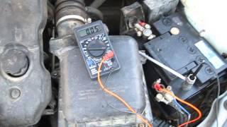 Как обнаружить утечку тока с аккумулятора на ВАЗ 100%