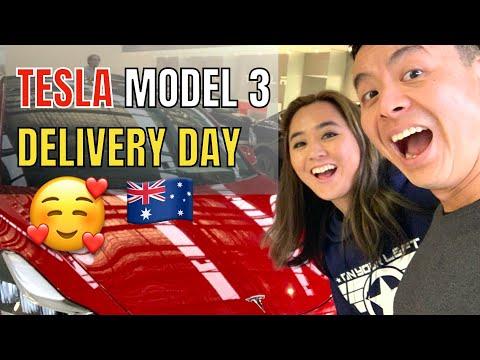Tesla Model 3 Delivery Experience Australia  | Tesla Tom