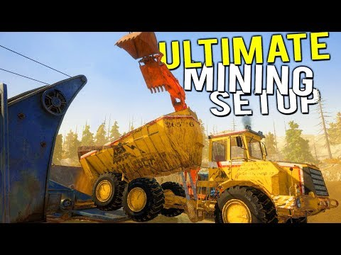 OUR NEW ULTIMATE GOLD MINING SETUP! Dump Truck is Operational! - Gold Rush Full Release Gameplay