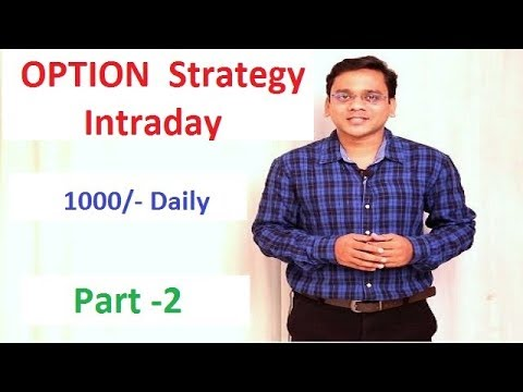 Option trading strategy in indian market