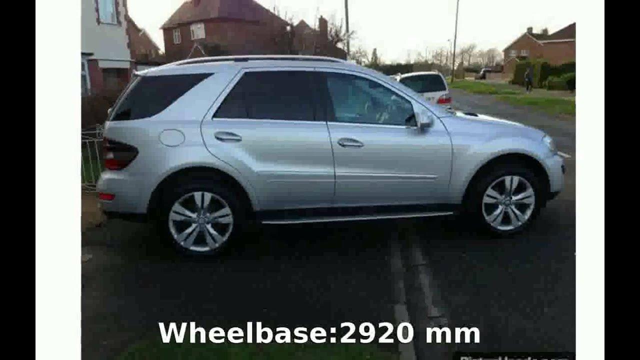 2009 mercedes benz ml 320 cdi details