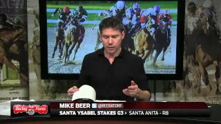 Santa Ysabel Stakes Preview - 3/1/14