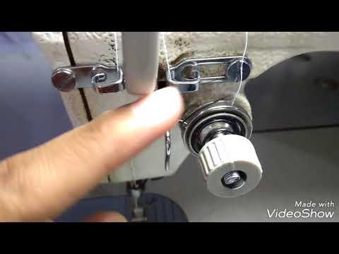 Cómo ajustar la tensión de la máquina recta