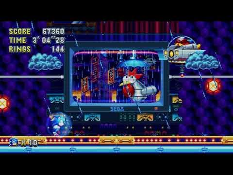 Sonic Mania - Studiopolis Zone Act 2 boss fight