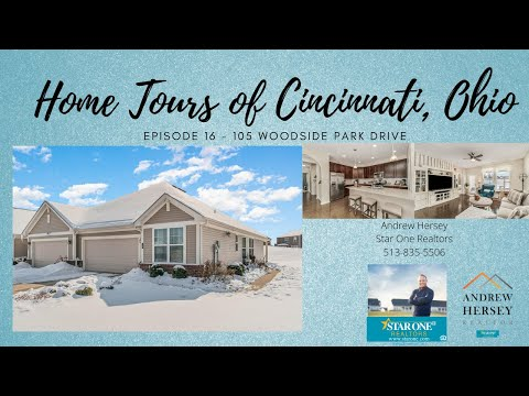 Home Tours of Cincinnati, Ohio - Episode 16 - 105 Woodside Park Drive