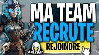 Présentation De Ma Team Fortnite Recrute [PC/XBOX/PS4] [FR]