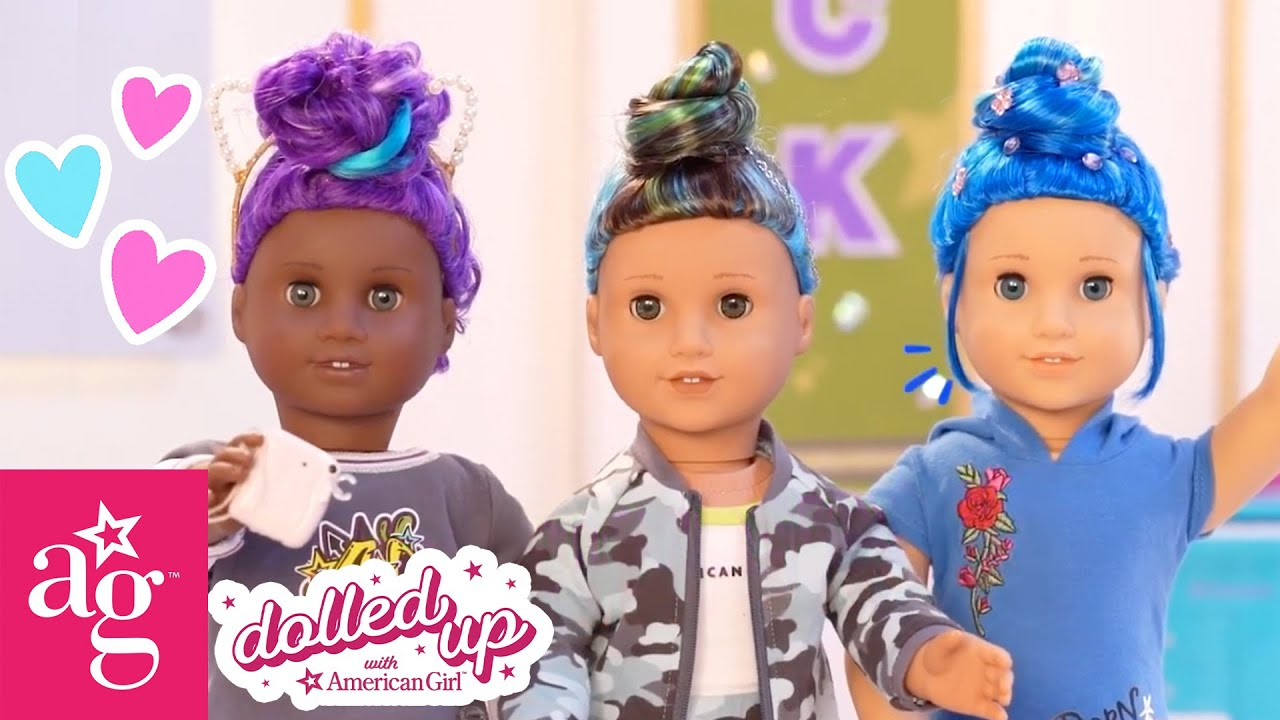 Best Dolled Up Moments Of 2021! Makeovers, Hairstyling, & More! @American Girl