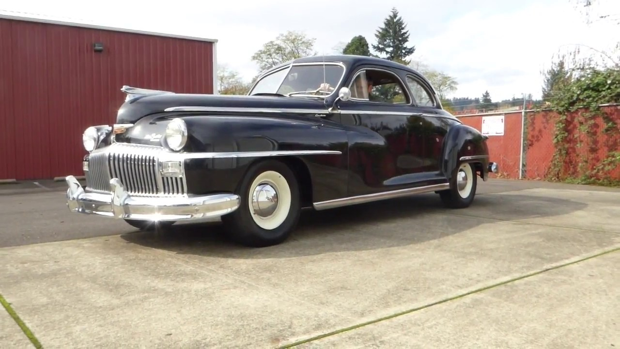 1949 Desoto Custom Club Coupe \