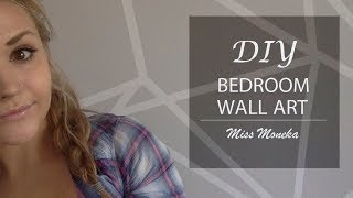 Diy - Bedroom Wall Design | Moneka