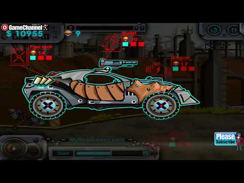 Dead Paradise / Arcade Racing Games / Browser Flash Games / Gameplay Video - 동영상