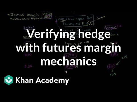 Verifying hedge with futures margin mechanics | Finance & Capital Markets | Khan Academy