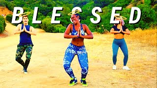 Shenseea - BLESSED🙏🏾 (feat. Tyga) | REGGAE-INSPIRED ROUTINE @The Fitness Marshall  @Haley Jordan