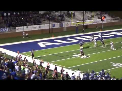 Barrel Roll-Auburn High School Football's OT Screen