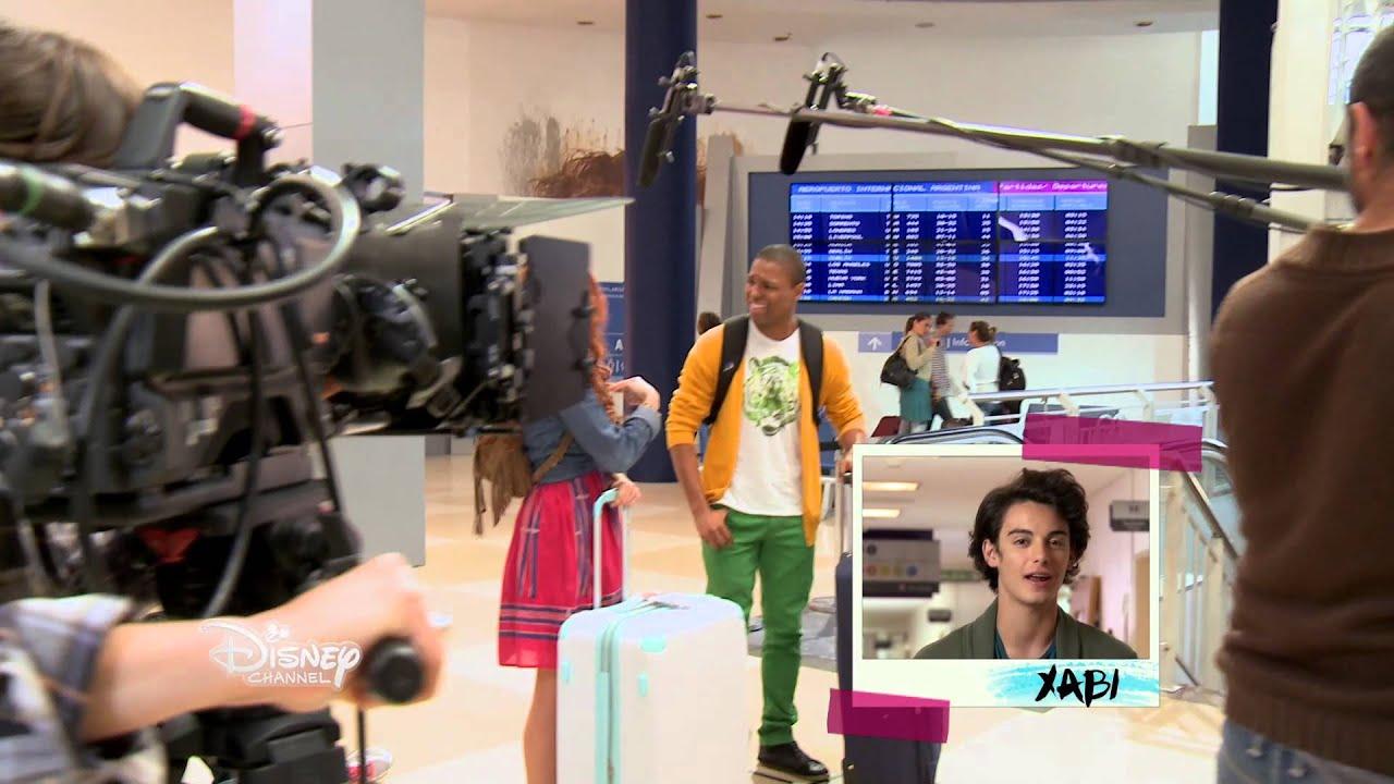 Violetta saison 3 les coulisses premier jour de tournage au studio youtube - Photo de violetta saison 3 ...