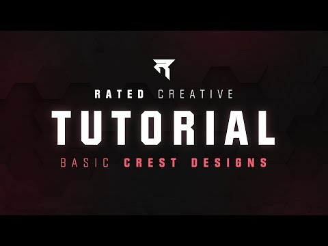 Tutorial - How to make Crest Designs in Adobe Illustrator thumbnail