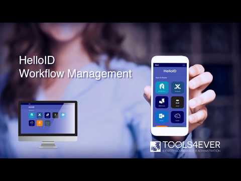 HelloID: Workflow Management Update 4.8 - Identity as a Service