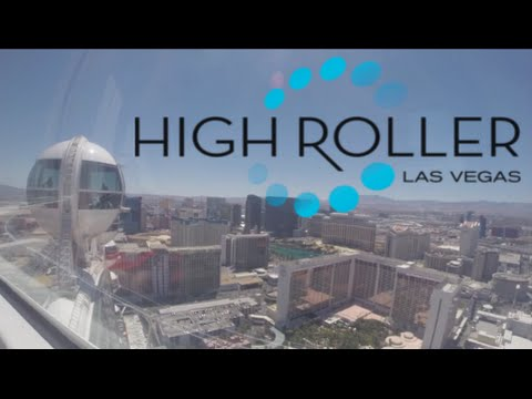 High Roller World's Tallest Ferris Wheel FULL 28 Minute On Ride POV