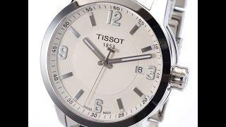 TISSOT T055.410.11.017.00 MENS WATCH PRC 200 SILVER WHITE DIAL REVIEW ティソ シルバー メンズ 腕時計